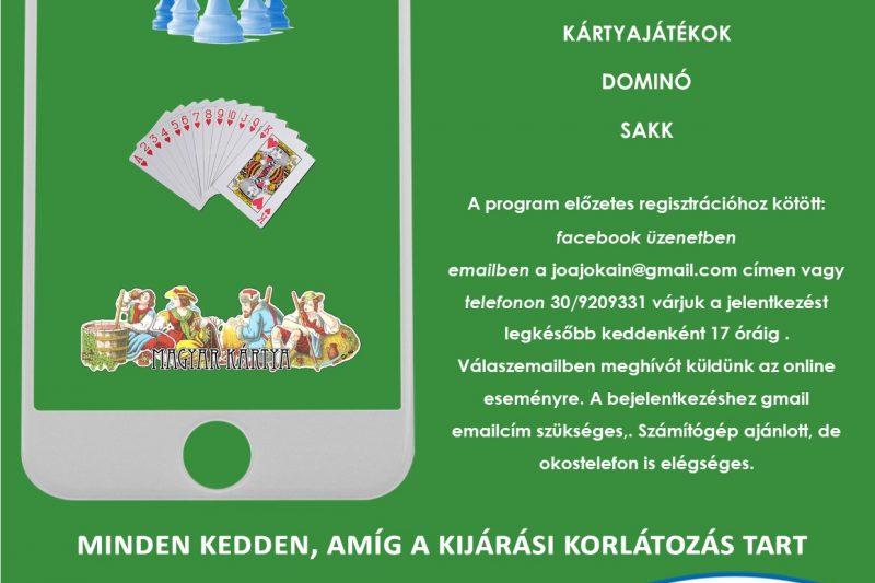 Játssz velünk! keddenként online